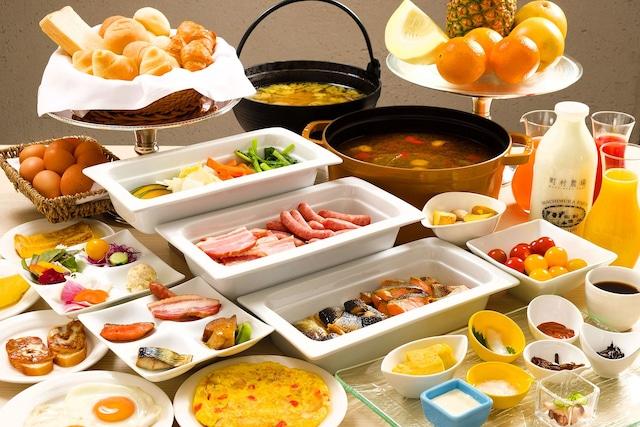 ホテルレオパレス札幌 朝食メニュー 一例