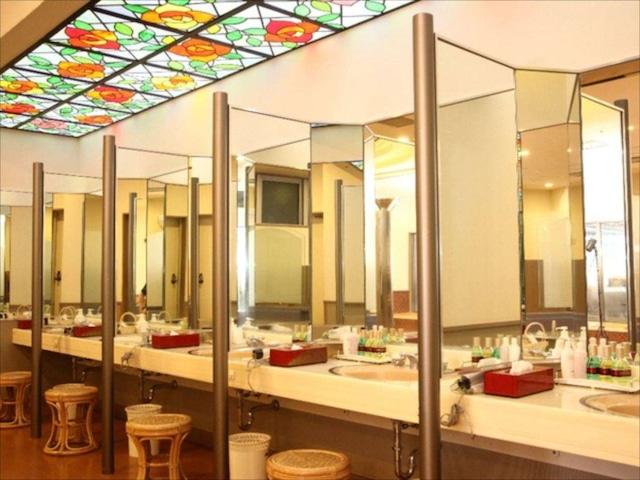 十和田湖温泉 ホテル十和田荘 脱衣所