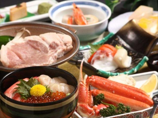 十和田湖温泉 ホテル十和田荘 夕食一例
