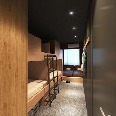 GRIDS TOKYO UENO HOTEL&HOSTEL ベーシックルーム6名定員