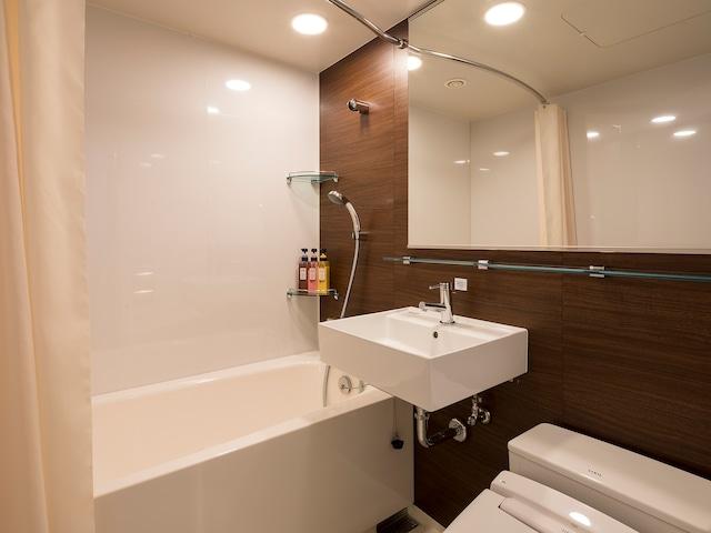 【神田】コンフォートホテル東京東神田 浴室