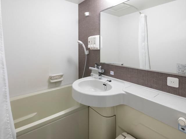【東日本橋】コンフォートホテル東京東日本橋 浴室