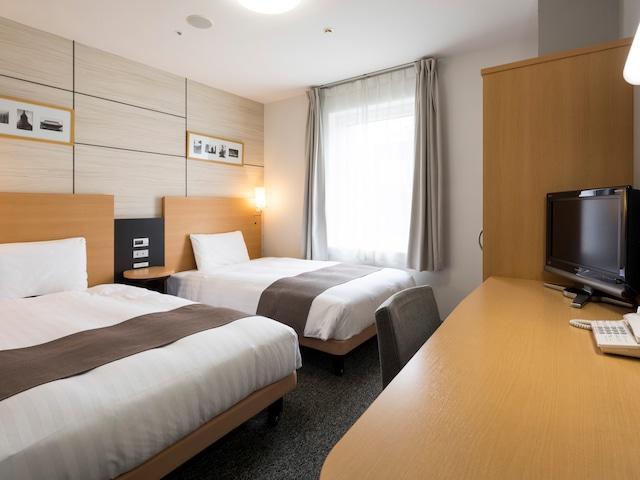 【東日本橋】コンフォートホテル東京東日本橋 ツインルーム
