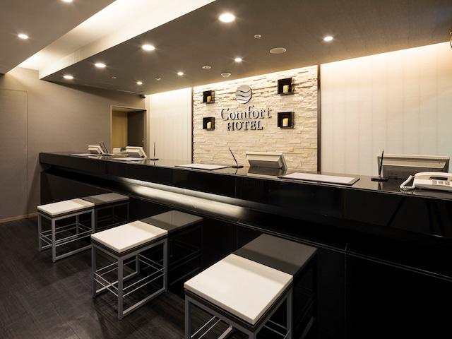 【東日本橋】コンフォートホテル東京東日本橋 フロント