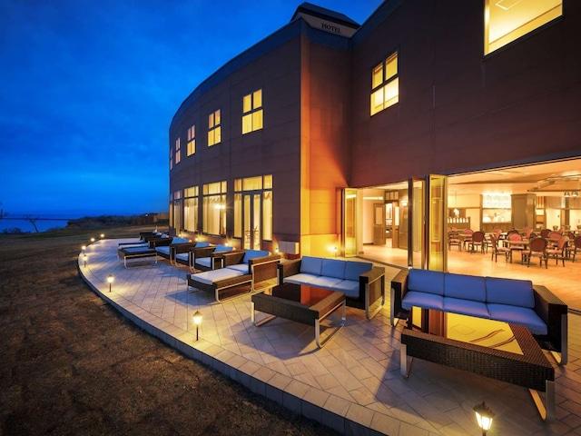 ホテルグランメール山海荘 テラス