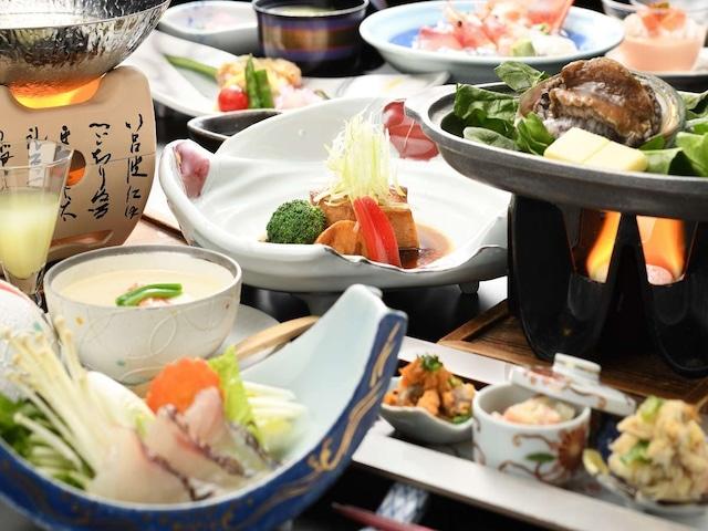 ホテルグランメール山海荘 夕食