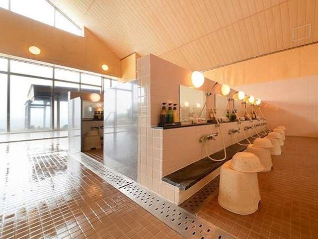 ホテルグランメール山海荘 洗い場