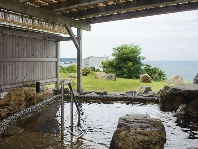 ホテルグランメール山海荘 露天風呂