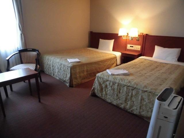 ホテルアセント福岡 デラックスツインルーム 23㎡