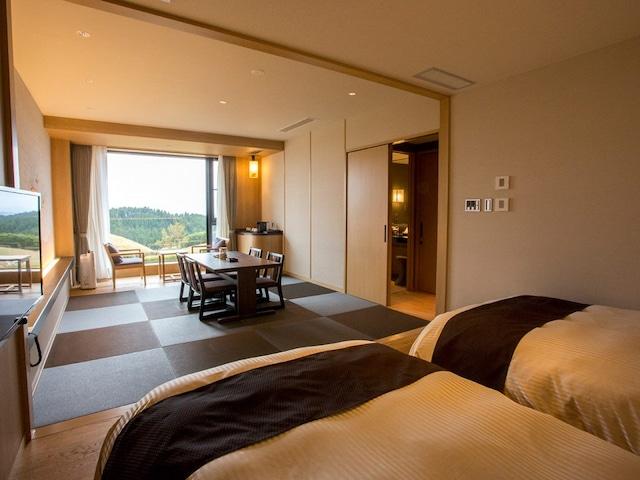 黒川温泉 瀬の本高原ホテル <西棟>和洋室 48㎡