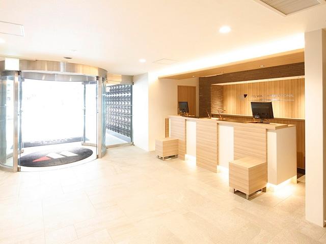 【横浜】ホテルウィングインターナショナル横浜関内 フロント