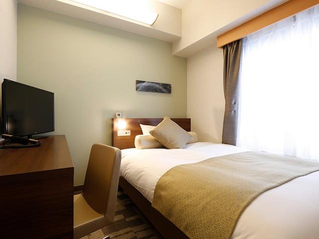 【横浜】ホテルウィングインターナショナル横浜関内 シングルルーム