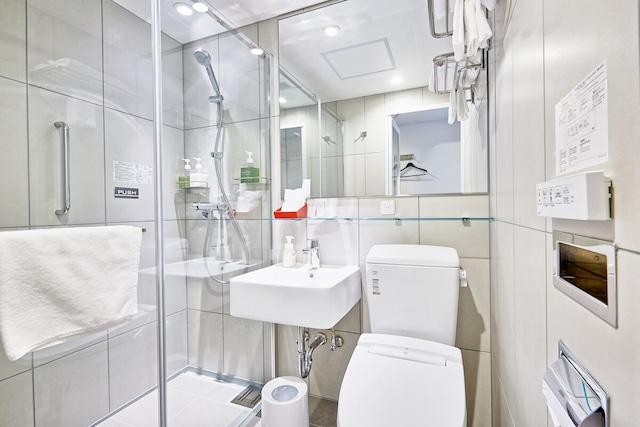 レッドプラネット札幌 すすきの中央 バスルーム