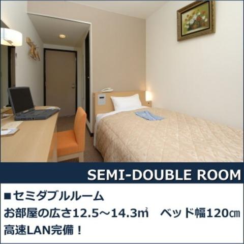 浜田ニューキャッスルホテル セミダブルルーム 12.5㎡~