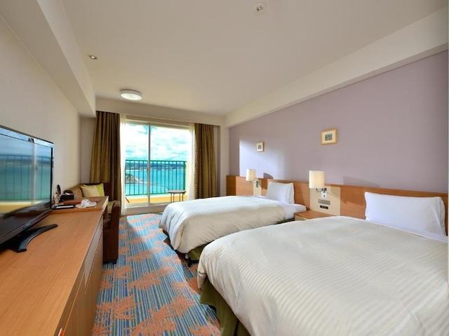 ベッセルホテルカンパーナ沖縄 【本館】オーシャンビューツイン