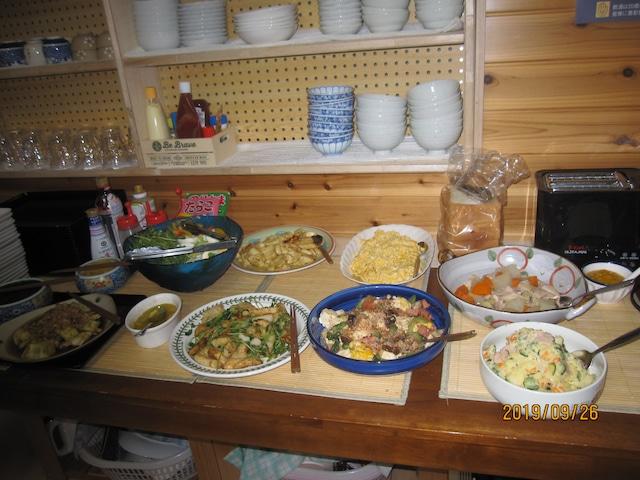 イチョーキ・ヴィラ 朝食イメージ