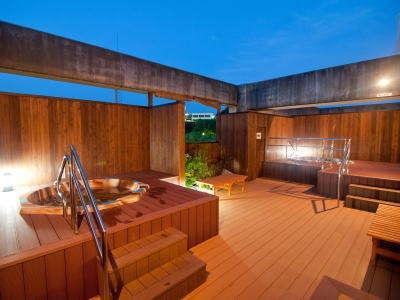 湯ノ浦温泉 ホテルアジュール汐の丸 露天風呂
