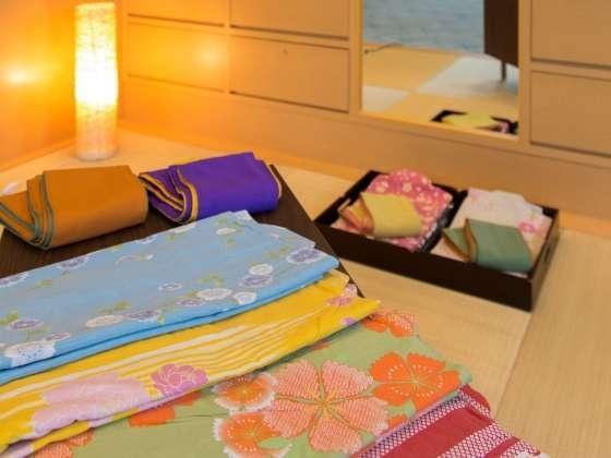 湯ノ浦温泉 ホテルアジュール汐の丸 色浴衣貸出