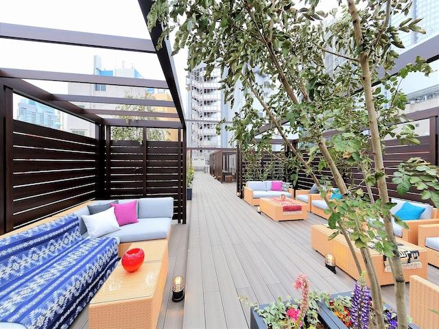 【六本木】アクトホテル六本木 ルーフトップガーデン