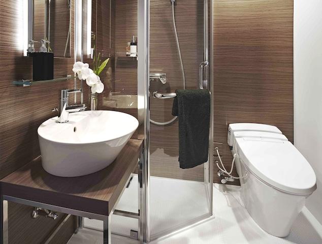 【六本木】アクトホテル六本木 シングルルーム シャワールーム