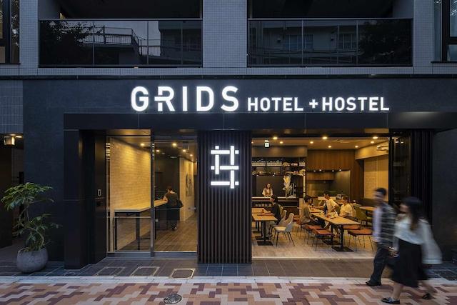 【上野】GRIDS TOKYO UENO HOTEL&HOSTEL 外観
