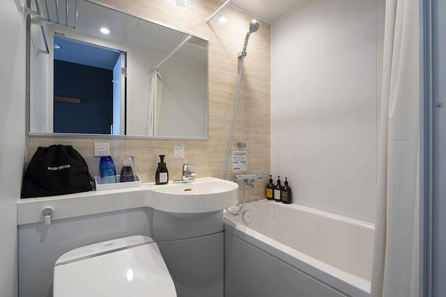 GRIDS TOKYO UENO HOTEL&HOSTEL ダブルルーム バスルーム