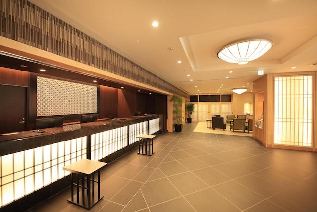ベッセルホテルカンパーナ京都五条 フロント