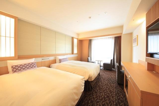 ベッセルホテルカンパーナ京都五条 スーペリアルーム(25.2㎡)3名1室の場合エキストラベット1台利用