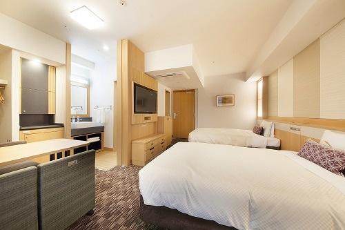ベッセルホテルカンパーナ京都五条 デラックスルーム2名1室
