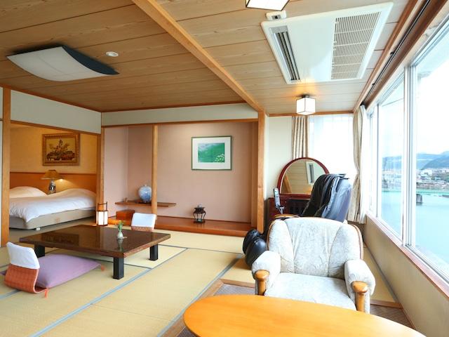 日田温泉 亀山亭ホテル 特別室601 和室12畳+ツイン6畳