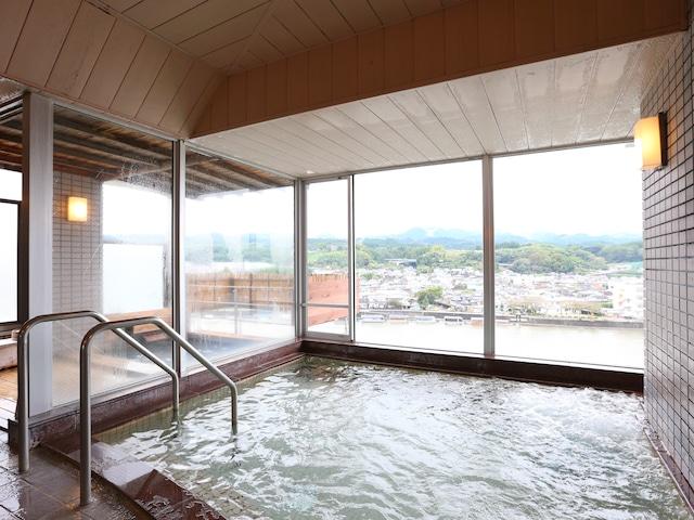 日田温泉 亀山亭ホテル 大浴場