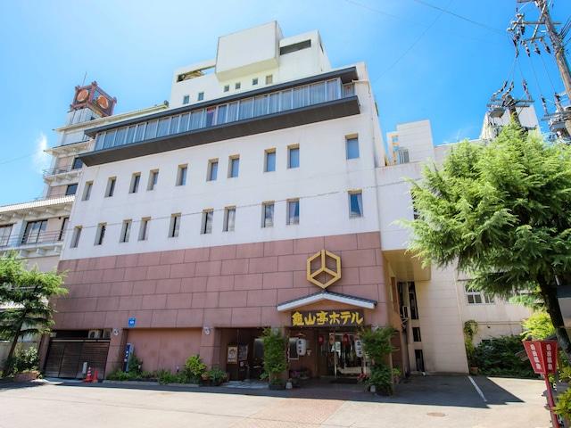 日田温泉 亀山亭ホテル 外観