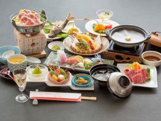 日田温泉 亀山亭ホテル 夕食(基本会席)