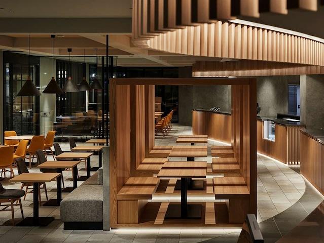 ザ・スクエアホテル金沢 BANKERS STREET CAFE
