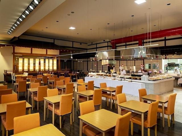 セレクトグランドホテル加賀山中 バイキング会場