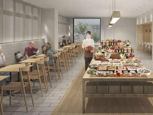 レフ熊本 by ベッセルホテルズ 朝食会場