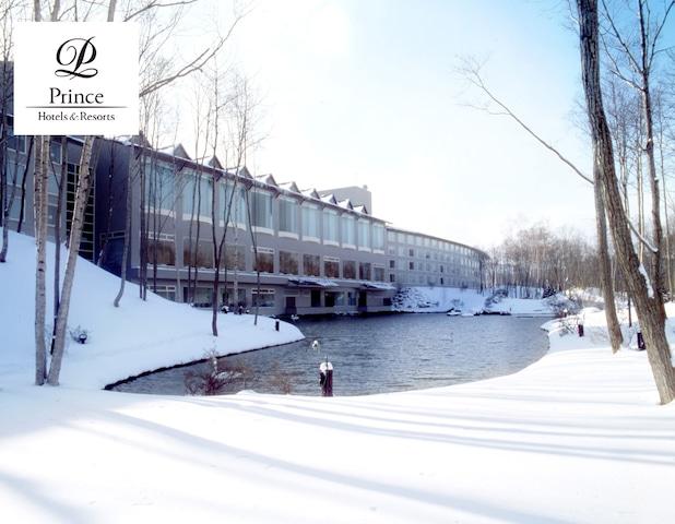 函館大沼プリンスホテル 外観(冬)