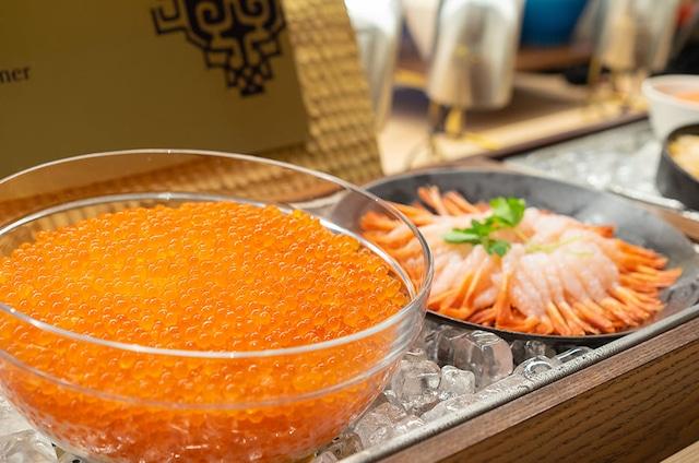 ベッセルホテルカンパーナすすきの 朝食一例