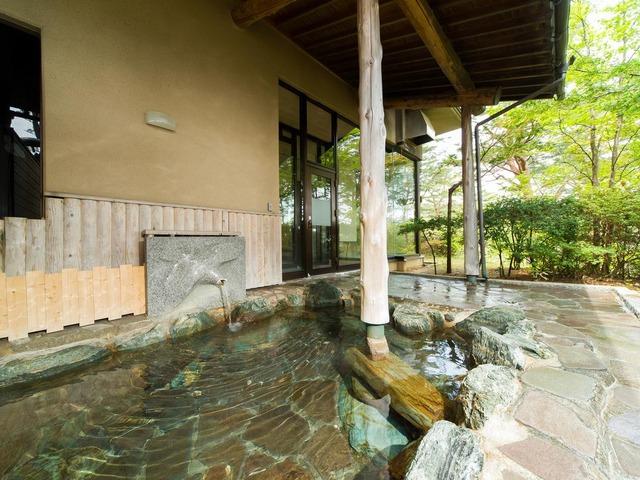 浄土ヶ浜パークホテル 露天風呂