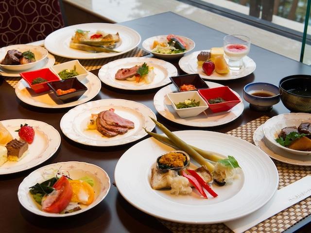 浄土ヶ浜パークホテル 夕食