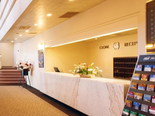 ホテルパールシティ気仙沼 フロント