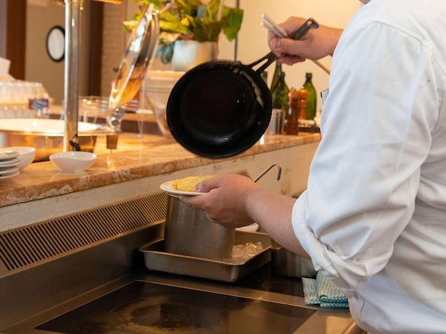 松島温泉 ホテル松島大観荘 朝食バイキング