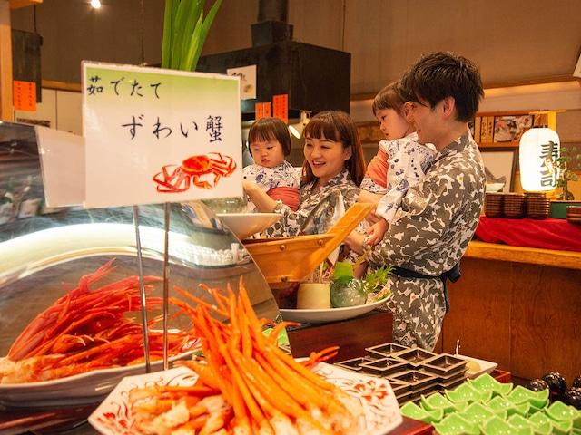松島温泉 ホテル松島大観荘 和風海鮮バイキング
