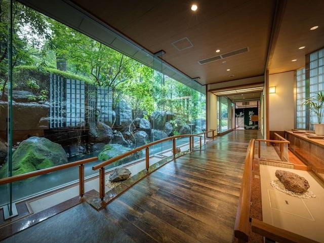 松島温泉 ホテル松島大観荘 大浴場入り口