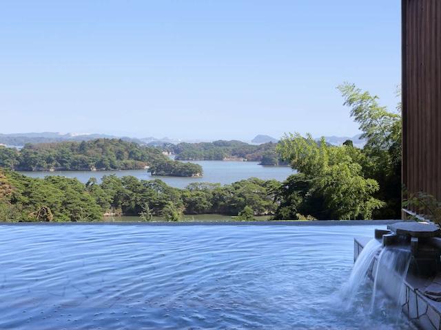 松島温泉 ホテル松島大観荘 露天風呂