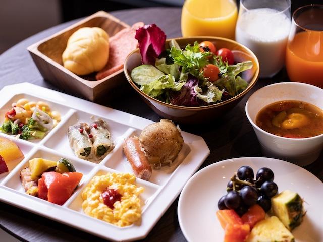 【銀座】日和ホテル東京銀座EAST 朝食イメージ(洋食)