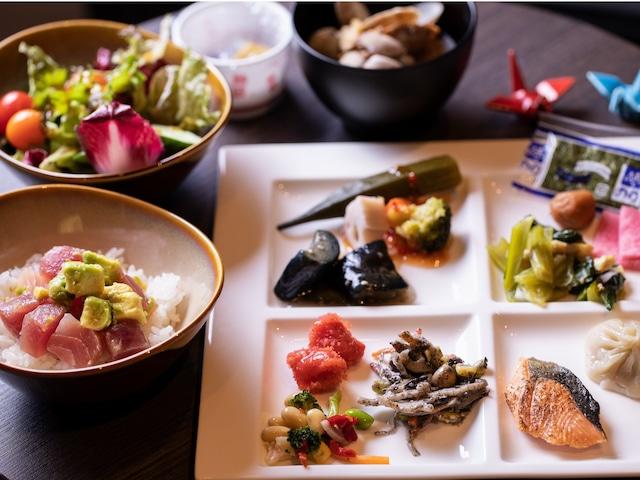 【銀座】日和ホテル東京銀座EAST 朝食イメージ(和食)