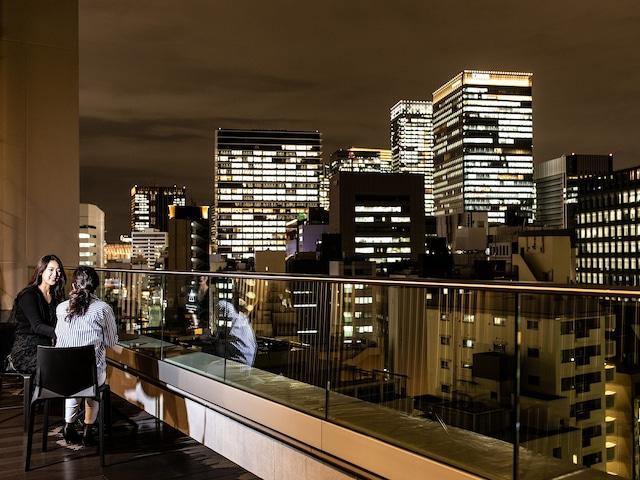 【銀座】日和ホテル東京銀座EAST 屋上テラス