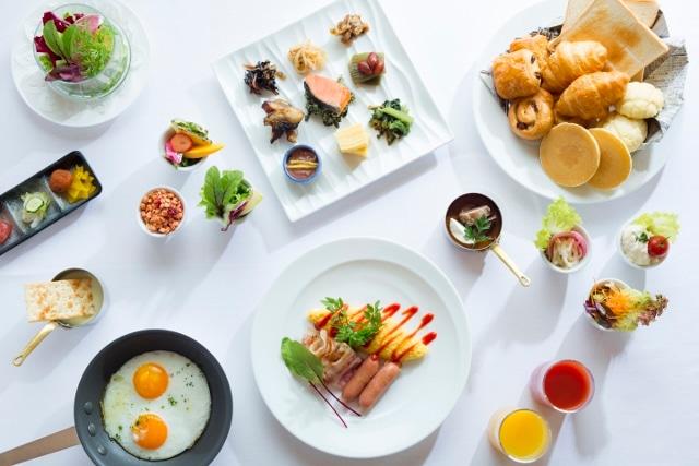 小樽朝里クラッセホテル 朝食メニュー 一例