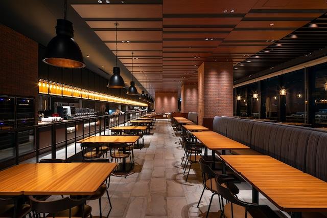 .リーベルホテルアットユニバーサルスタジオジャパン 朝食2 Dining BRICKSIDE